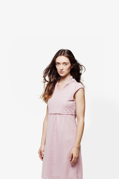Talea | abito in jersey di lino