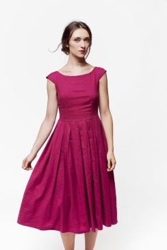 Diorella | abito in tela di lino